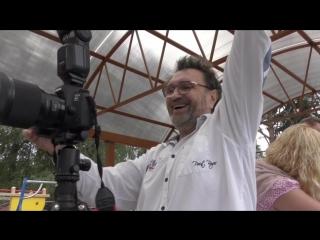 Фотограф и любимые модели Храм Николая Чудотворца Пос Лебяжье август 2018 года