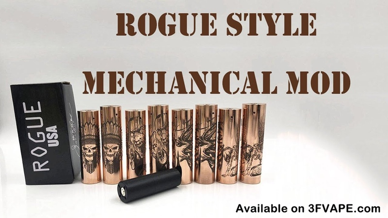 Rogue Toys In The Attic Style Mech Mod