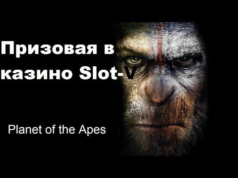 НЕ вулкан! Выиграла в лицензионное казино Slot-V. Хороший слот PLANET OF THE APES