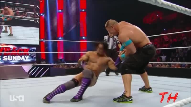 Neville vs John Cena Highlights HD Raw 11 05 2015