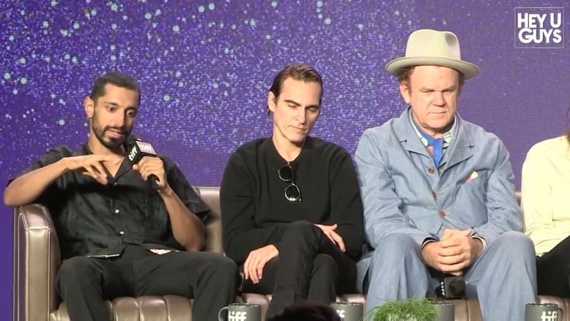 Joaquin Phoenix John C. Reilly on making The Sister Brothers - TIFF Press Conference