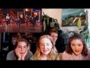 Американцы смотрят лезгинку и русские народные танцы