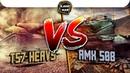 T57 Heavy VERSUS AMX 50B, Кто самый лучший? / WoT Blitz