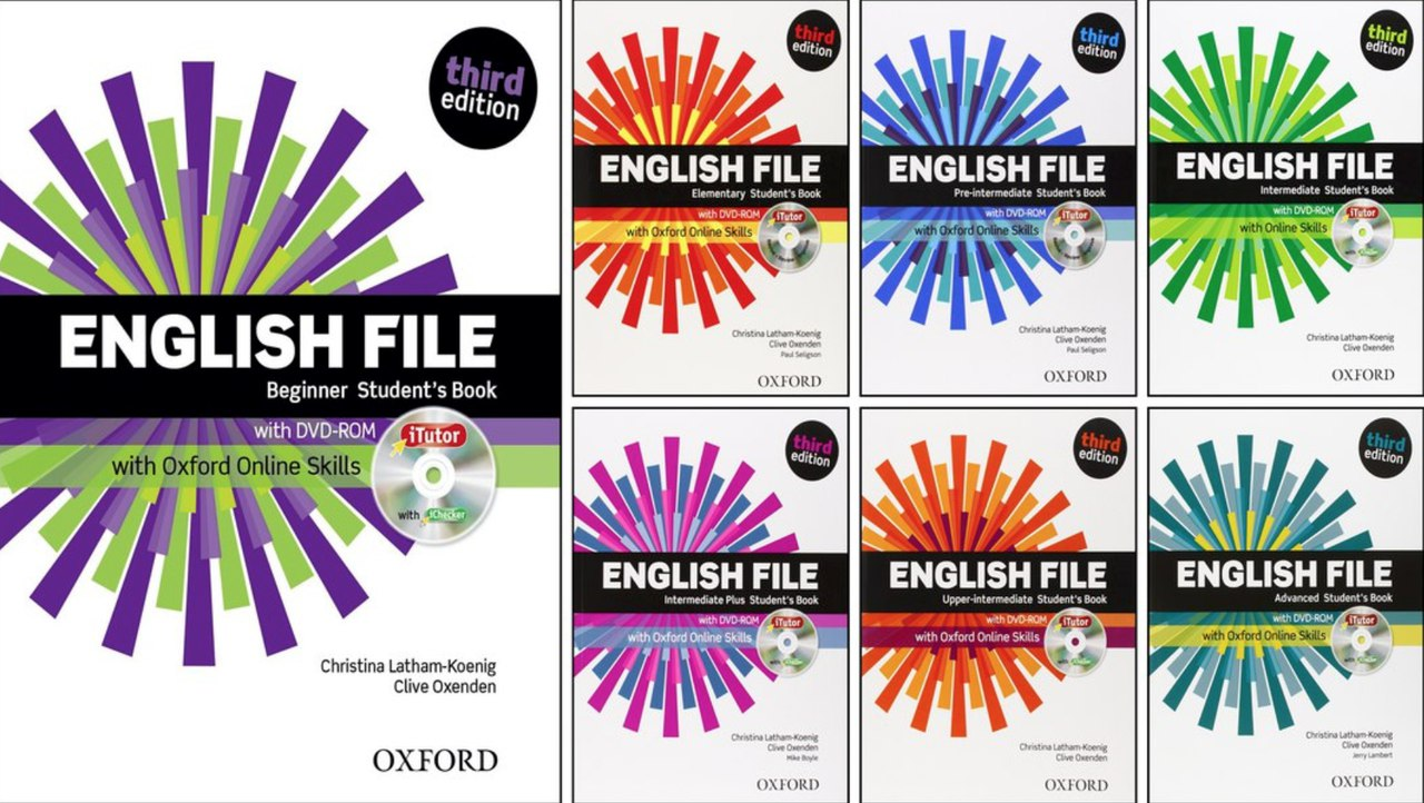 english file third edition beginner student s book