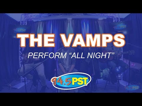 The Vamps perform All Night in the PST Princeton Plastic Surgeons Live Lounge