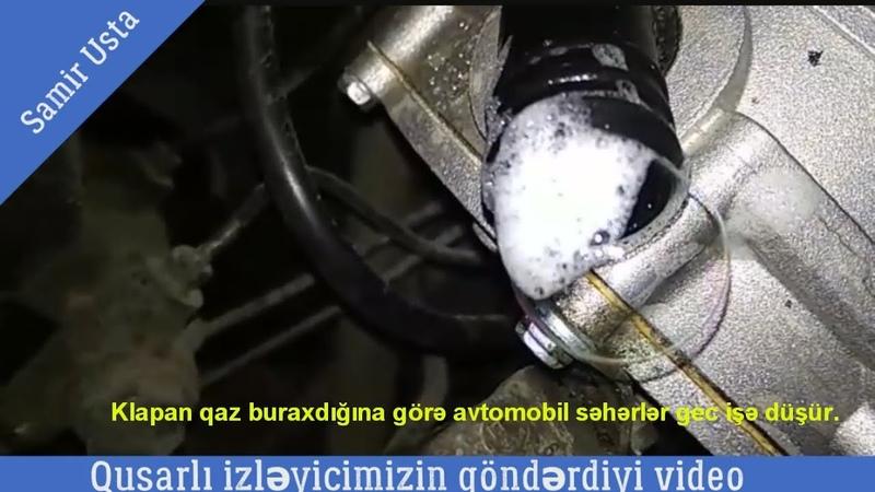 Qazla işləyən Avtomobil sürücülərinin nəzərinə ↬ diqqətlə baxın ↬ Qusarlı izləyicimizin videosu