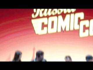Брайан Декарт и Амелия Роуз-Блэр на Comic Con Russia 2018