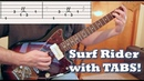 Surf Guitar: Surf Rider [with TABS!]