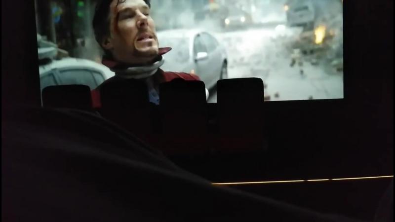 Avengers: Infinity War    Doctor Strange vs Ebony Maw