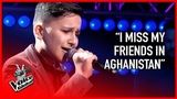 Afghan refugee steals hearts of The Voice coaches STORIES #11