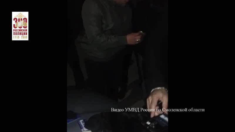 Задержание «наркобарона» на вокзале в Смоленске