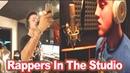 Rappers In The Studio Part 3 (Lil Mosey, Mac Miller, Meek Mill, Chief Keef, SmokePurpp etc )