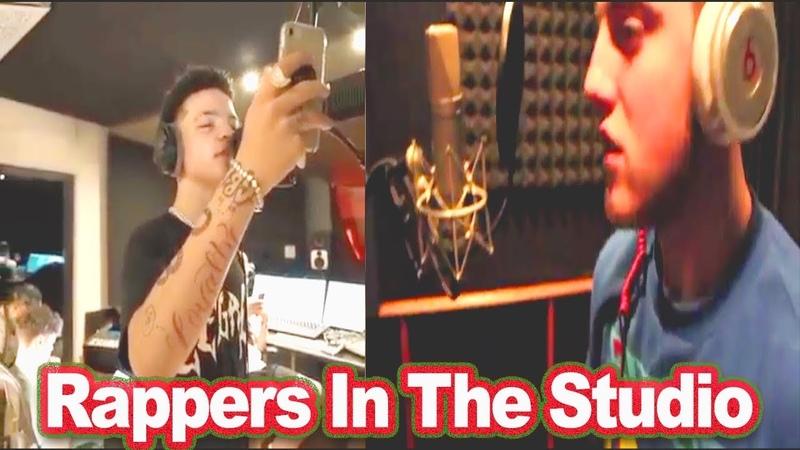 Rappers In The Studio Part 3 Lil Mosey Mac Miller Meek Mill Chief Keef SmokePurpp etc