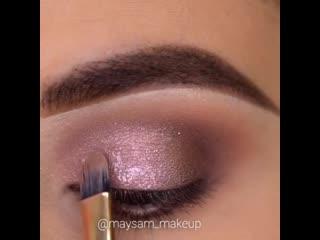 Нежный и выразительный макияж