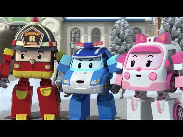 Робокар Поли - ПДД - Сборник 4 - Все серии подряд про машинки и правила безопасности для детей