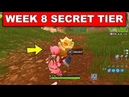 WEEK 8 SECRET BATTLE STAR LOCATION! - I FOUND THE SECRET WHY THE FREE TIER IS NOT THERE IN FORTNITE