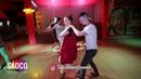 Sergey Vladimirovich and Elena Bryleva Salsa Dancing in Respublika, Saturday 21.07.2018