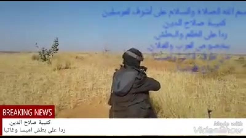Боевики ИГ в боях с туарегами в Мали.
