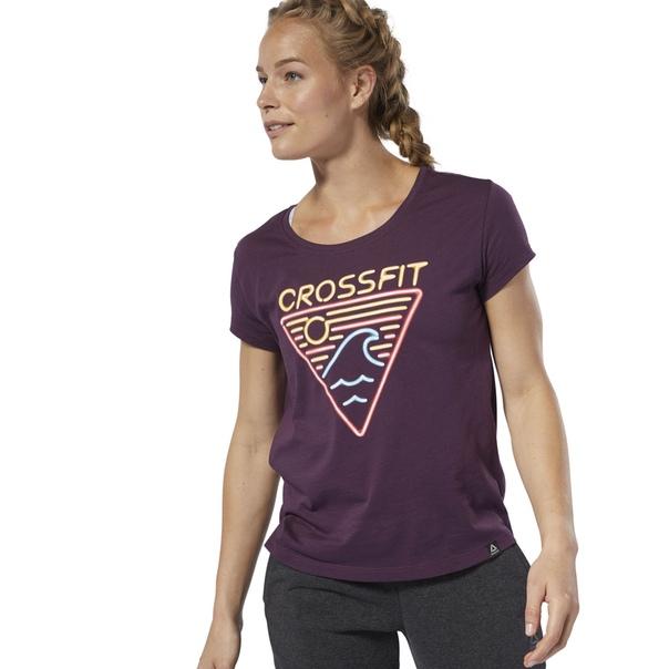 Спортивная футболка Reebok CrossFit® Neon Retro Easy