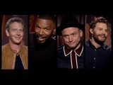 ROBIN HOOD Hilarious Cast Interviews Taron Egerton, Jamie Foxx, Jamie Dornan, Ben Mendelsohn