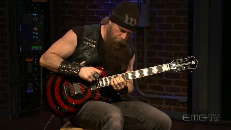 Zakk Wylde Plays Low Rider on EMGtv