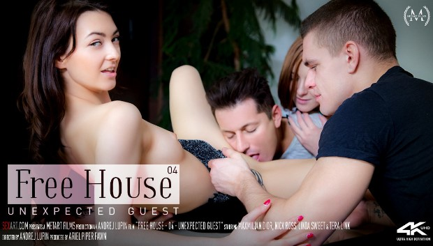SexArt - Free House Episode 4 - Unexpected Visit