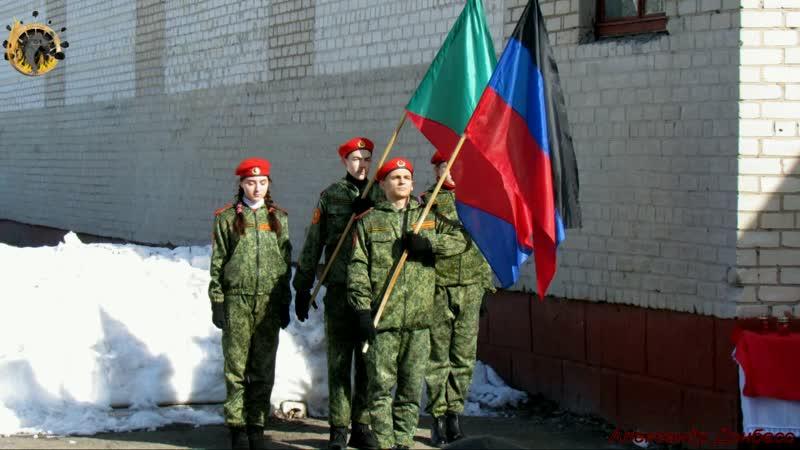 Торжественный митинг посвященный памяти погибшего воина-интернационалиста Сергея Глущенко и 30-й годовщине вывода советских войс