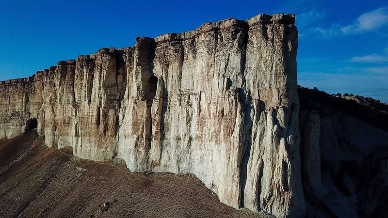 Белая скала и перевал в Крыму