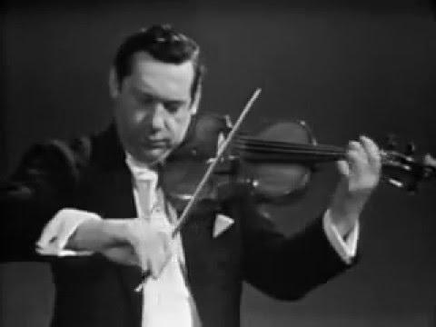 Ernest Bloch: Baal Shem, B.47:2. Nigun (Improvisation) / Arthur Grumiaux, violin; André Chometon, piano