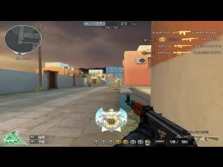 [x0tek] [PYTHON RED EAGLE + AK47 CFS]New Greece Gameplay - CrossFire Stream Highlights