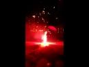 красный фонтан