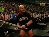 Stone cold vs The undertaker for the WWF Championship 2001