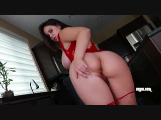 Bryci (red lace in the kitchen)[2019, big tits, dirty talk, exclusive, fetish, masturbation, pov, stockings, tease, hd 1080p]