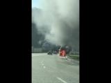 17.03.2018.Сочи горит авто.