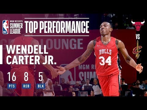 Wendell Carter Jr. Fills The Stat Sheets In His 2018 MGM Resorts Summer League Debut