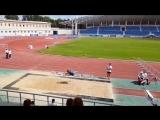 Александр Меньков победил в прыжках в длину на Мемориале Знаменских