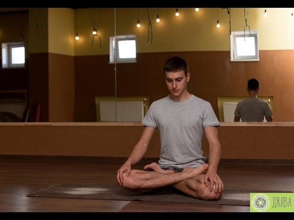 Семинар Алексея Наумкина по йоге Айенгара: подготовка к падмасане (позе лотоса)