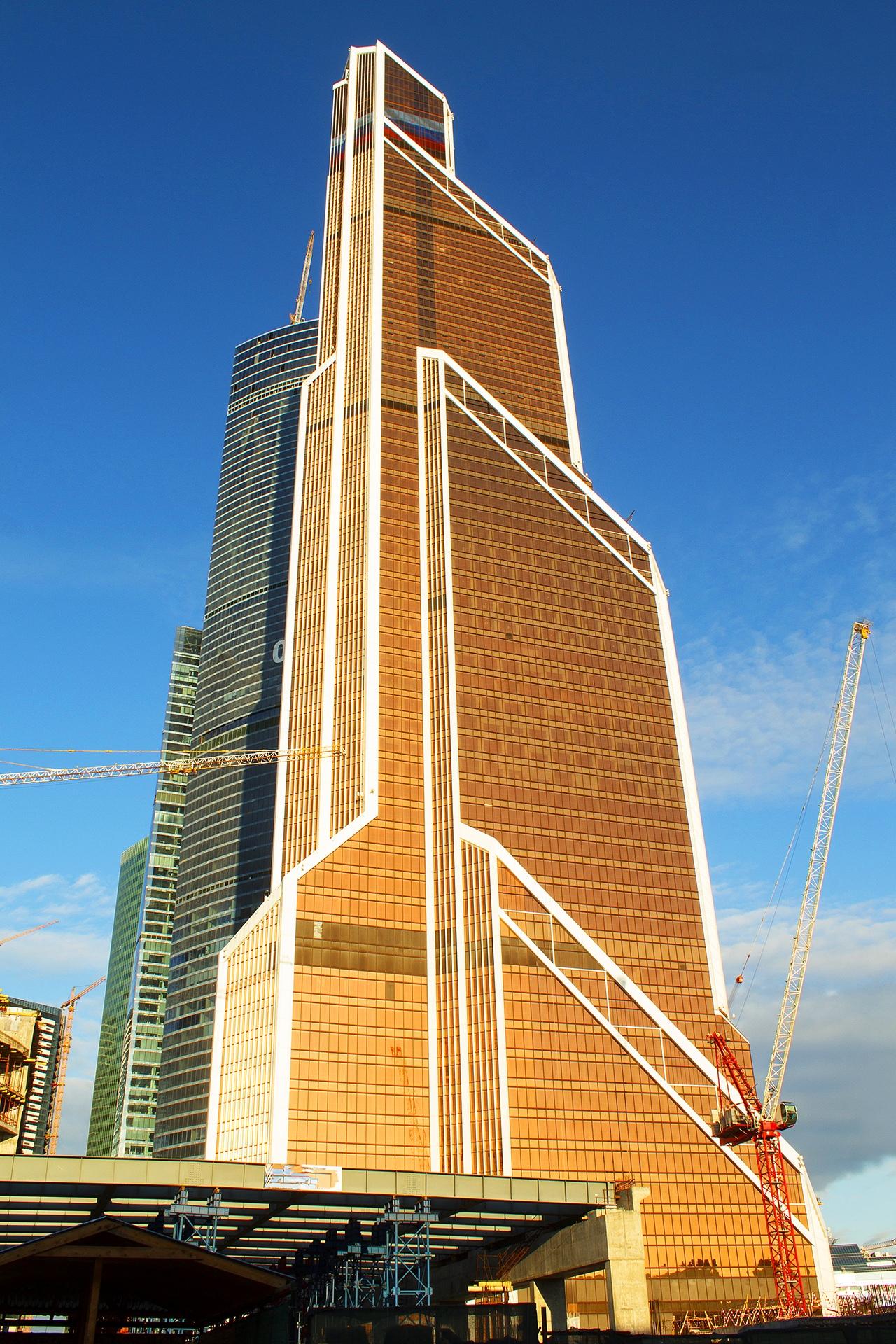 Башня меркурий москва сити фото