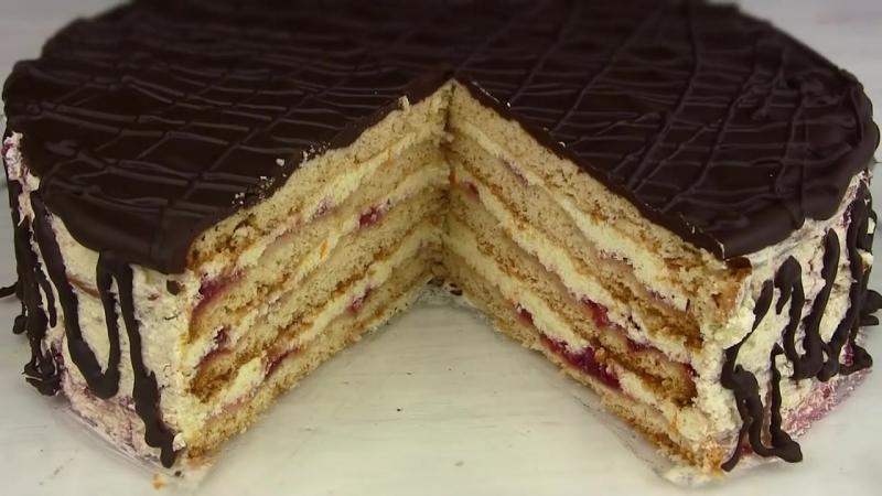 Торт СТЕФАНИЯ Бесподобный медово песочный торт