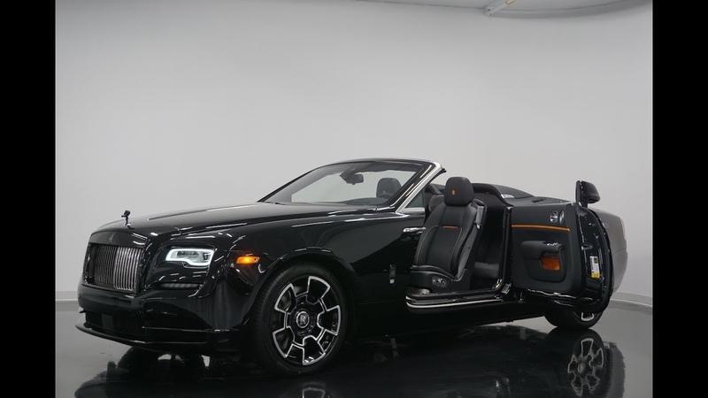 2019 Rolls Royce Dawn Black Badge Aero Cowling Walkaround in 4k