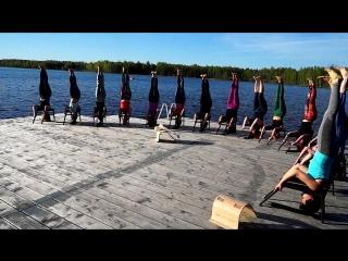 Critical Alignment Yoga. Valday ecoclub 2018 may
