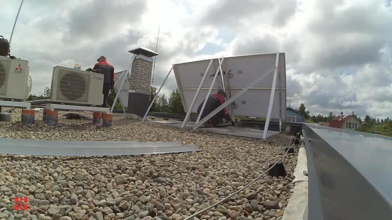 Солнечная электростанция в Большой Ижоре