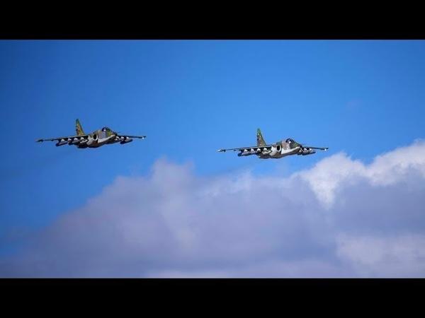 Су-25 и Ка-52 патрулируют Керченский пролив из-за действий ВМС Украины