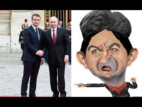 L'Ambassadeur Russe Révèle à J.L. Mélenchon ce qui S'est Passé Entre Macron et Poutine
