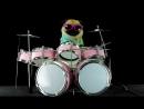Пёс на барабане Metallica Enter Sandman