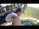 SkyPark Bangy 69 Мой первый прыжок Видео с GoPro