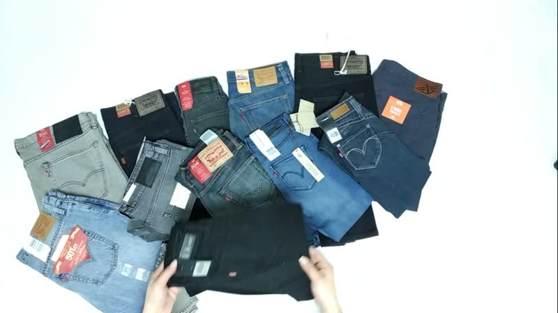 6.99 Levi Strauss Co лот 1(8,4кг) 22 е/кг