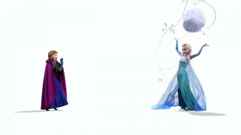 Холодное сердце - Анна и Эльза
