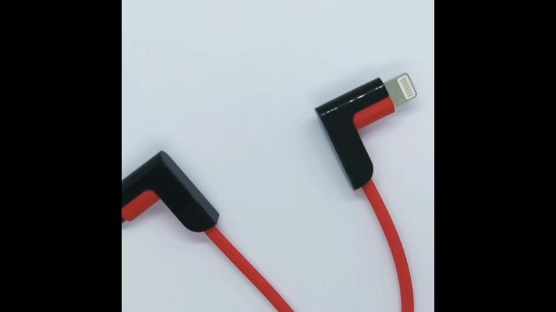 Кабель Hoco X12 Apple 8pinmicroUSB - USB красный