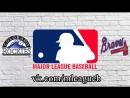 Colorado Rockies vs Atlanta Braves 17 08 2018 NL MLB 2018 2 4